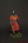 Английский рыцарь XIII век - Оловянный солдатик коллекционная роспись 54 мм. Все оловянные солдатики расписываются художником вручную