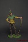 Робин Гуд - Оловянный солдатик коллекционная роспись 54 мм. Все оловянные солдатики расписываются художником вручную