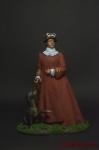 Екатерина Великая - Оловянный солдатик коллекционная роспись 54 мм. Все оловянные солдатики расписываются художником вручную