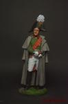 Генерал от инфантерии М.Б.Барклай де Толли. Россия, 1810-12 - Оловянный солдатик коллекционная роспись 54 мм. Все оловянные солдатики расписываются художником вручную
