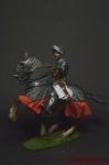Тяжеловооруженный всадник Ливонской Конфедерации , 16 век - Оловянный солдатик коллекционная роспись 54 мм. Все оловянные солдатики расписываются художником вручную